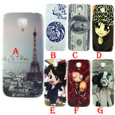 Stylish Patterns Battery Door Back Housing Cover For Samsung Galaxy S4 i9500