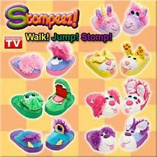 STOMPEEZ Kids Slippers - As Seen On TV - Choose Your Style and Size Fun Stomper