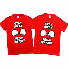 Stay Away From My Boy & Stay Away From My Girl Couple T-Shirts