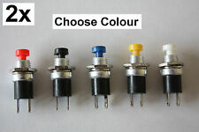 Miniature Momentary Switches Normally Closed NC Push To Break Mini Signal Button