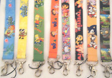 Lanyard for ID card, mobile phone, MP3, keys etc  Choice of character designs
