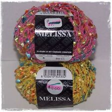 """Melissa"" Yarn Filatura Di Crosa Stacy Charles  Flag Necklace Knit Crochet"