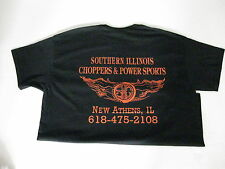 T Shirt - Southern Illinois Choppers & Power Sports - Logo