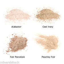 Mineralshack Matte 4 Fair Skin samples Optional face Brush mineral foundation