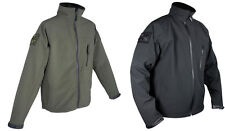 JACKET- TACTICAL SOFTSHELL- WATERPROOF/BREATHABLE IN  GREEN OR BLACK BY WEB-TEX