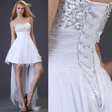 2013HOT Bridesmaid Cocktail Formal Short Mini Gown Prom Evening Party Ball Dress