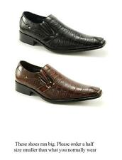 Men's Delli Aldo Dress Shoes Design Styled in Italy- M- 18622- Sizes 7 to 12