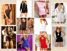 Lady Mini Short Dress Skirt Sexy Lingerie Clubwear Adult Party Costume Clothing