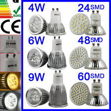 GU10 MR16 LED Bulbs Lights 3528/5050 SMD LED COOL Day/Warm White Replace Halogen