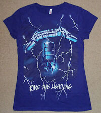 Metallica Ride The Lightning Juniors Shirt M-XL NEW Licensed