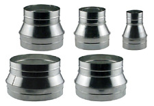 """14"""" 12"""" 10"""" 8"""" 6"""" 4"""" Ducting Reducer ALL SIZES Avaialbe High Quality BAY HYDRO"""