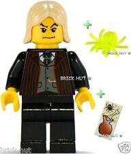 LEGO HARRY POTTER - LUCIUS MALFOY FIGURE + FREE EXTRA'S - RARE - BESTPRICE - NEW