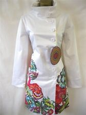 Authentic Desigual  FLORENCIA Embroidered Coat Size 36/38/40/42/44