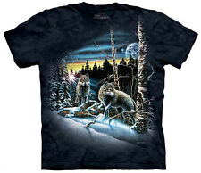 Find 13 Wolves Adult  Animals Unisex T Shirt The Mountain