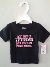 My Dad's Tatoos Are Cooler Than Yours  Infant Toddler T-Shirt  New with Tags