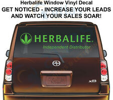 HERBALIFE SIGN Window Vinyl Decal For Your Car -GET NOTICED
