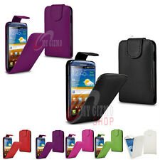 FLIP PU LEATHER CASE AND FREE SCREEN PROTECTOR FITS SAMSUNG GALAXY SIII S3 I9300