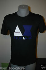 New Armani Exchange AX Stylized Black Tee T-shirt Shirt