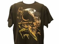 Star Wars Wing Chase Air Pilot Death Star X Jet Retro Vintage T shirt LARGE