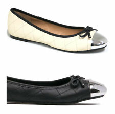 NEW $59 I LOVE BILLY Forevers Womens Ballet Flats Black or Cream Ivory Shoes