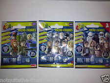 DR WHO MICRO FIGURES - PICK OWN - SERIES 1/2/3  CHARACTER BUILDING FIGURE