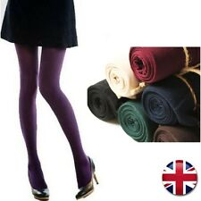 Full Length Cotton Blend Womens/Ladies Warm Thick Tights Stretchable