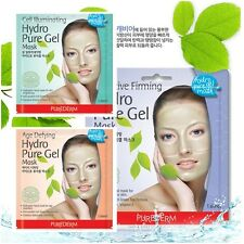 6pcs[Purederm]Hydro Pure Gel Mask pack sheets,facial skin care,brighten,moisture