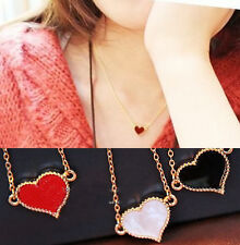 2013 New Womens Necklace Love Heart Pendant Necklace Jewelry Gift 3 Colors 2nI
