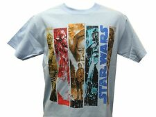 Star Wars Movie Strip C3P0 R2D2 Boba Fett Darth Vader Luke Sywalker T shirt