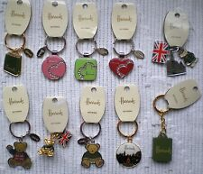 Harrods Keyring-many to choose from -BNWT more list no.321205249513