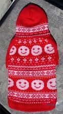 Pet Puppy Dog Clothes - Christmas Sweater with a Hood