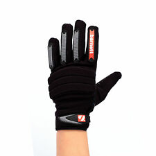 FKG-02 Fit Linebacker Football Gloves, Gants Linebacker LB, RB, TE Black barnett