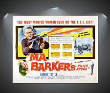 Ma Bakers Killer Brood Vintage Movie Poster - A1, A2, A3, A4 sizes