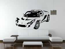LOTUS ELISE Sports Car Wall Decal Sticker VE77