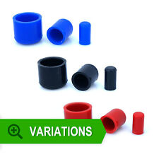 ASH Silicone Hose End Blanking Caps - Cap Off Bung Silicon Rubber Finisher Pipe
