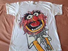 The Muppets Animal Drummer In Chains Vintage Puppet TV Show T-shirt
