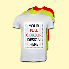 CUSTOM PRINTED FULL COLOUR PERSONALISED T-SHIRTS TEE SHIRT STAG HEN FREE UK POST