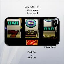 Slots Phone Case - Fits iPhone 4/4s/5/5s