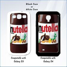 Nutella Phone Case - Fits Galaxy S3 & S4