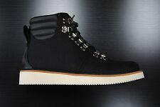 [6762R] NEW MEN'S TIMBERLAND ABINGTON HIKING BOOTS WOOLRICH CORDURA BLACK TIM22