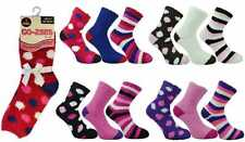3 or 6 Pairs of Chunky Co-Zees Ladies Jacquard Chunky Thermal Winter Socks