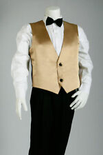 5 Piece Page Boys Gold/Silver Vest Suits for Infant Baby Boy - Sizes 000 to 16