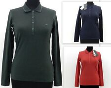 Fred Perry Polo 31162324 Cotone Blu, Rosso o Verde Donna Woman