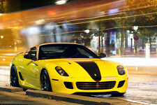 Poster of Ferrari 599 Novitec Rosso HD Super Car Print