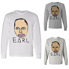 Odd Future Tyler OFWGKTA Free Earl Wolf Gang Earl Drawing - Long Sleeve Shirt