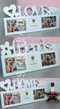 3D Bilderrahmen Fotorahmen Collage 3 Fotos Bild Fotogalerie Love Home Friends