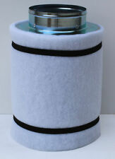 """HYDROPONICS CARBON FILTER FOR EXTRACTOR FAN GROW KIT ROOMS & TENTS 4"""" 5"""" 6"""" 8"""""""