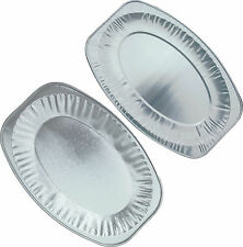 SILVER FOIL PLATTERS, SMALL, MED & LARGE EMBOSSED OR NON, PARTY SERVING SANDWICH