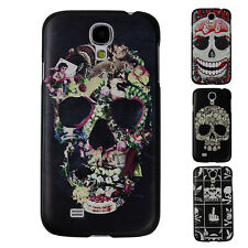 Yafex New Unique Skull Hard Snap On Protector Case Cover For Samsung Galaxy S4