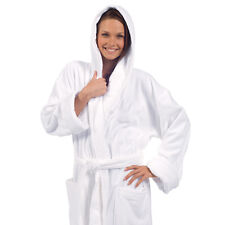 Unisex Adult Bathrobe, Hooded Mens Robe and Womens Robe, Embroidery available